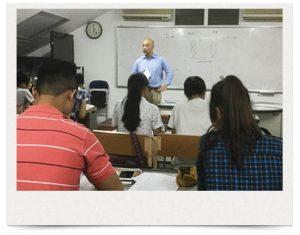 日本語センターでの授業風景