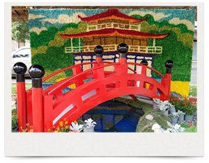 ホーチミン Ham Nghi通り花祭り