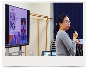 六郷工科高校での講義風景