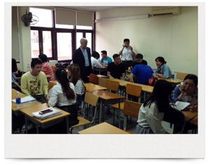 澁谷学園生徒がヌイチュック日本語センターを訪問