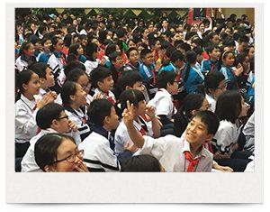 ハノイ中学校訪問会